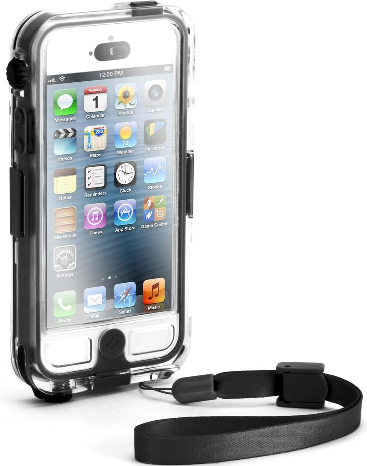Amazon.com: Griffin GB35562 Survivor Waterproof and Catalyst for iPhone 5 - Retail Packaging - Black: Cell Phones & Accessories