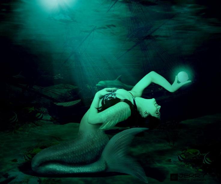 The Belly Dancing Mermaidby *JERRYARTZDESIGN
