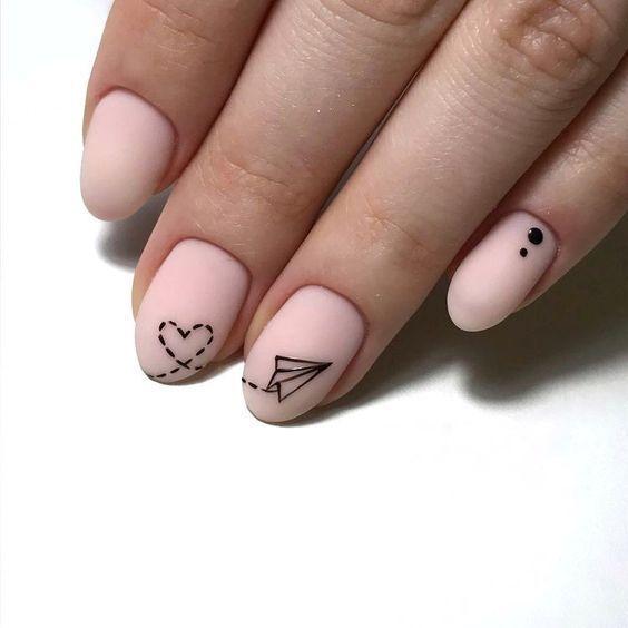 23 Kreative Nail Art-Ideen zum Valentinstag, die Sie stehlen möchten   – Nailar…