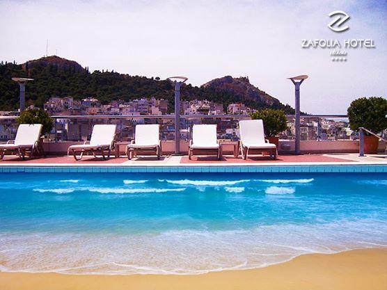 let's swim in Zafolia's Hotel pool