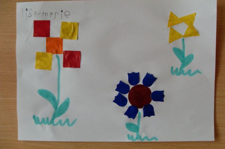 Mozaïek bloem