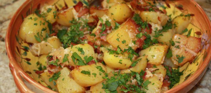 Parmezaanse kaas aardappelen | Lekker Tafelen
