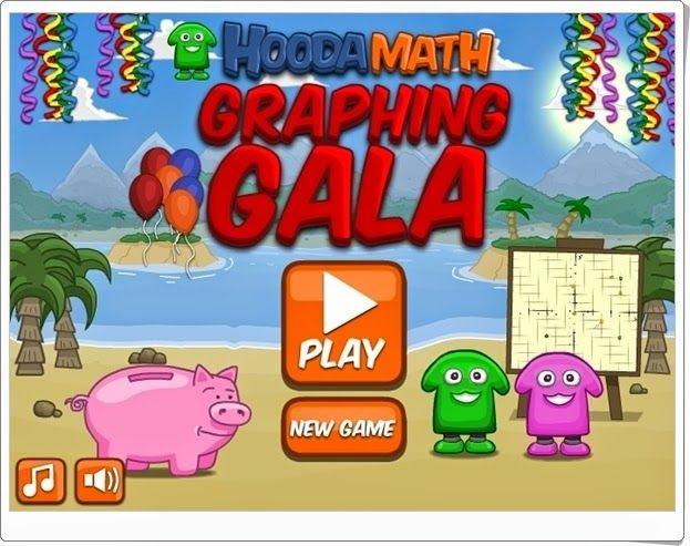 """""""Graphing Gala"""" (Juego de coordenadas cartesianas)"""