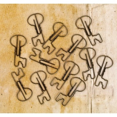 Prima Engraver Collection - Metal Paper Clips - Craft Obsessions