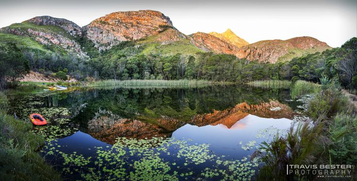 Leopard Trail Landscape - This photograph was taken in Swellendam, South Africa.