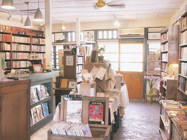 花蓮,時光二手書店。