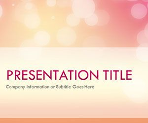 Free Glow Afternoon PowerPoint template is a free PPT template and PowerPoint background that you can download to prepare awesome presentations in Microsoft PowerPoint