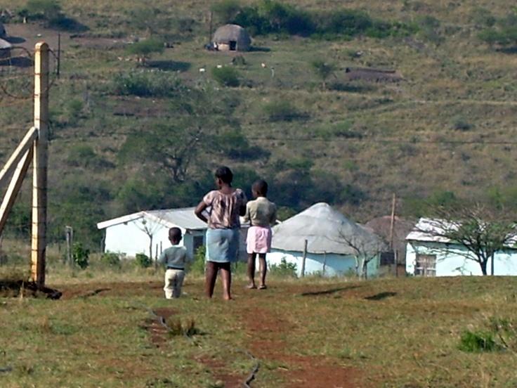 children in KwaZulu-Natal, South Africa