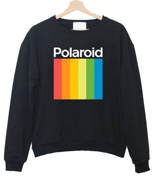9a50813c76 Polaroid Sweatshirt in 2019   Sweatshirt   Sweatshirts, Fashion ...