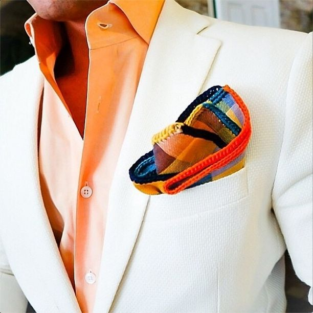 The Most Amazing Hand Made Pocket Squares | Sebastian Cruz Couture