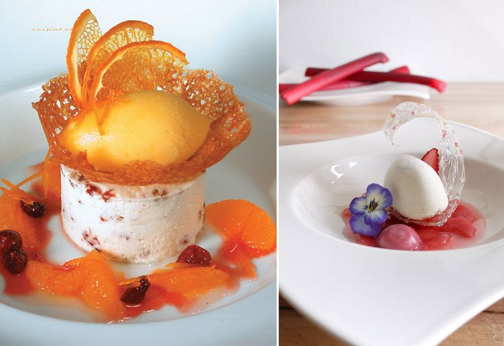 UNIQUE PLATED DESSERT RECIPES | ... Art of Pre Desserts and Plated Desserts Spring and Summer Collection