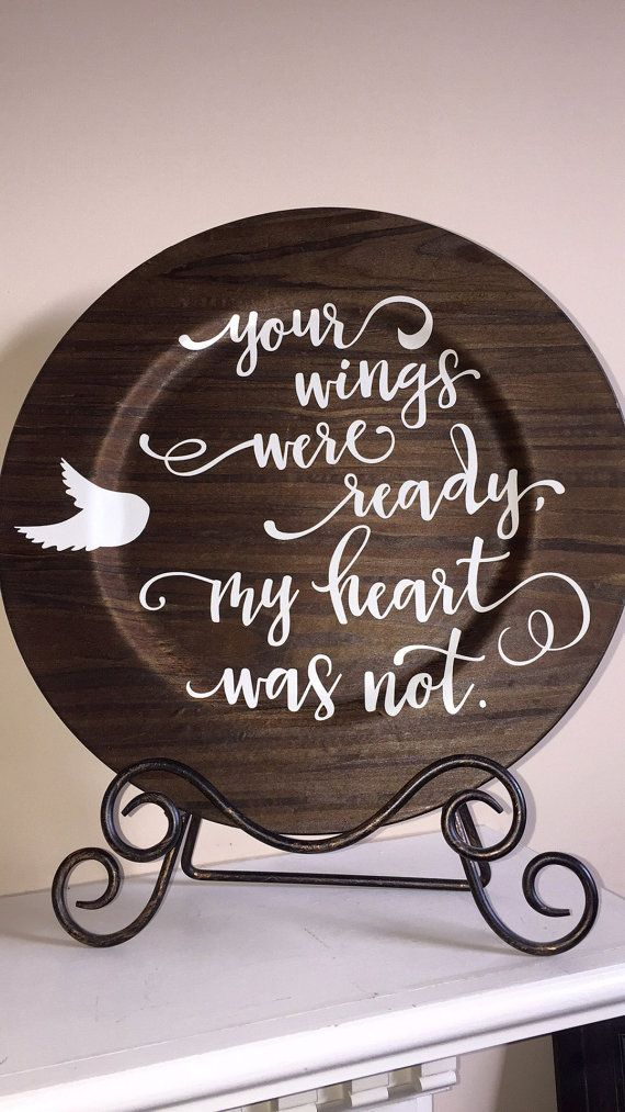 Rustic wood grain charger plate with sentimental by OHthatsdarlin & 163 best Chargers Craft Ideas images on Pinterest | Charger plates ...