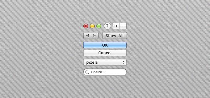 iOS Lion Interface Elements - 365psd