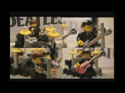 The Beatles Happy Birthday Lego Song - YouTube