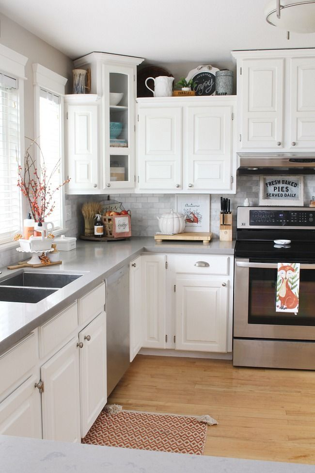 Fall Kitchen Decor With Images Kitchen Remodel Design Simple