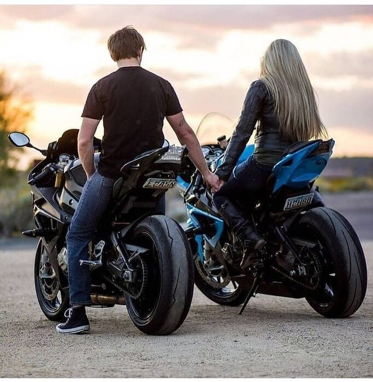 фото байкера на мотоцикле с любимым человеком уверениям