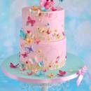 Butterfly cake.