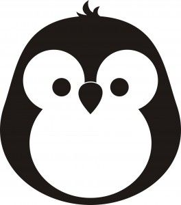 Dibujo de pingüino
