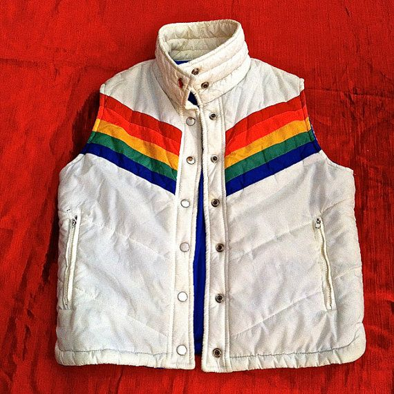 84c2618ca9b Super Cool Late 70s Early 80s Vintage Ski Vest - Super Mork   Mindy ...