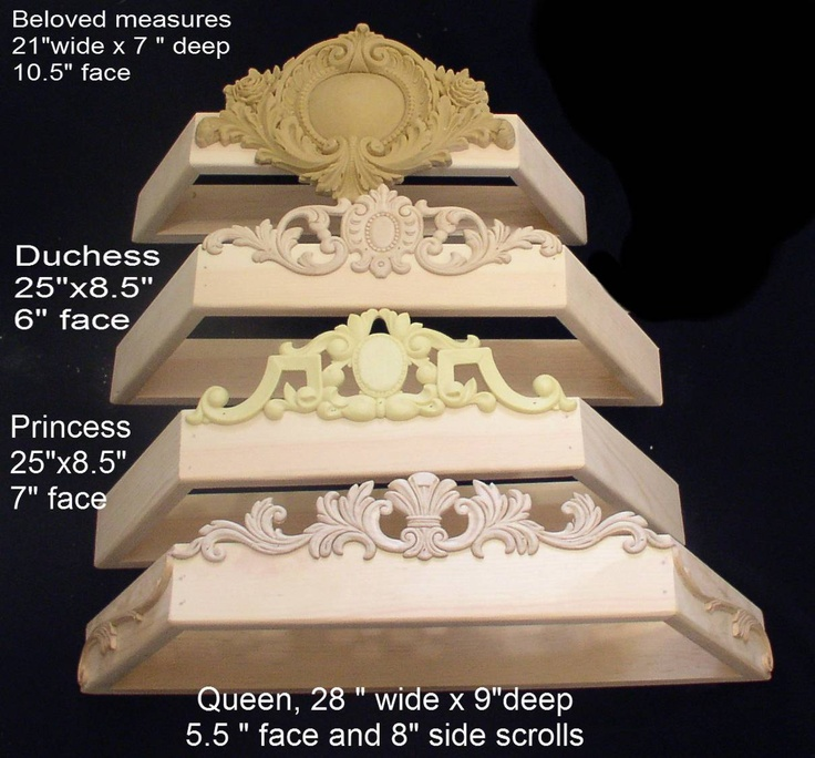 bed crown options
