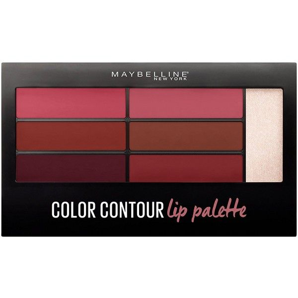 Maybelline New York Lip Studio Color Contour Lip Palette, Blushed... (42 BRL) ❤ liked on Polyvore featuring beauty products, makeup, lip makeup, lip gloss, maybelline, maybelline lip gloss and maybelline lipgloss
