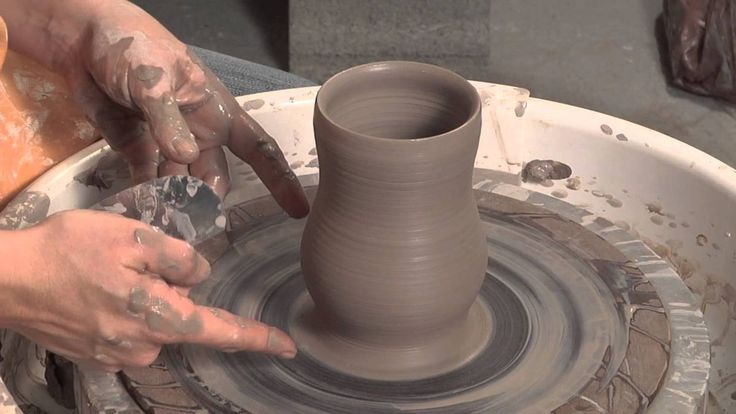 How to Throw a Curvy Cup and Finish it Without Trimming   ALLEN