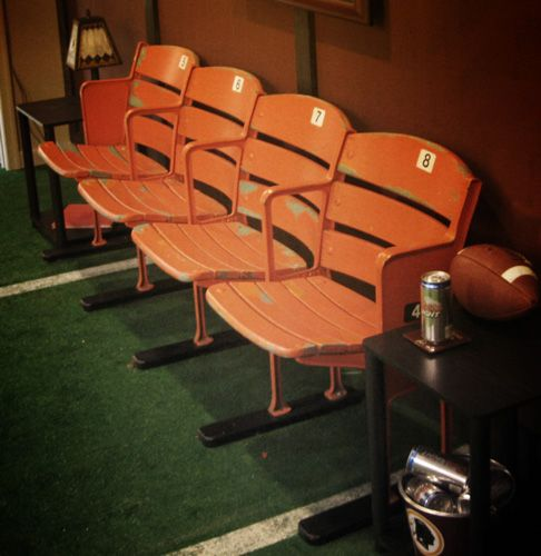 Stadium Seating...definitely...especially if I can get some form Fenway