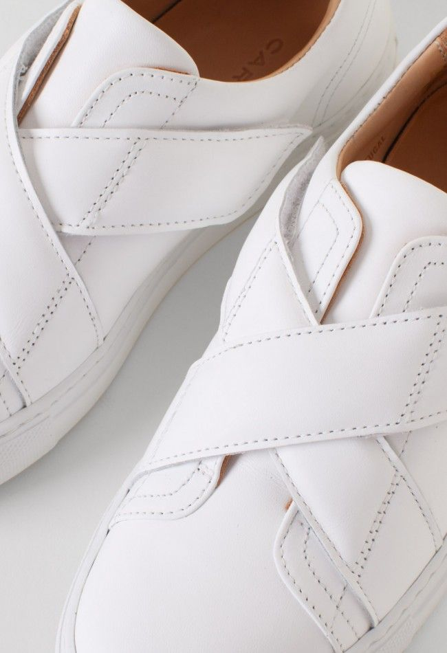 Carven Calin Low Sneaker White – Voo Store
