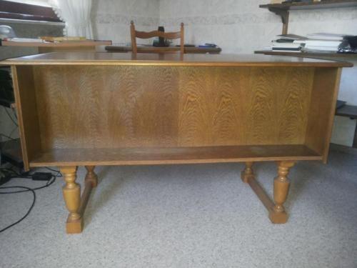 Elegant massiver Schreibtisch in eiche rustikal in Rheinland Pfalz M lheim Mosel B rom bel