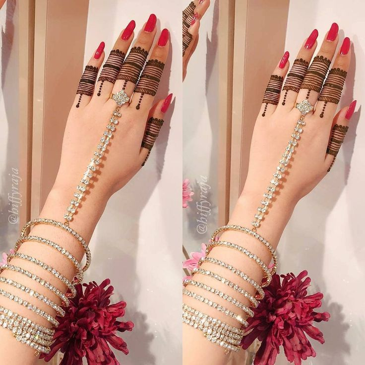 "23.9k Likes, 102 Comments - ✨ Daily Henna Inspiration ✨ (@hennainspo_) on Instagram: ""so beautiful! // henna by @hiffyraja & jewellery by @jewelleryboxbyraadhiyah . . . . . . . .…"""