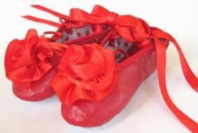 ballet shoes for flower girls :)