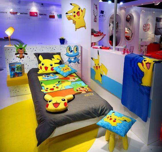 Resultado de imagen de cuartos decorados de pokemon