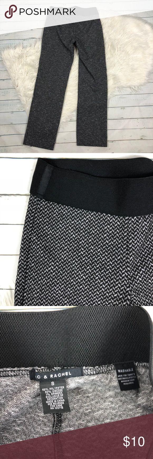 "Zac & Rachel printed soft casual pants Women's Zac & Rachel printed soft pant, polyester viscose and spandex blend. lightweight and casual  waist laying flat-14"" inseam-29""  I284 Zac & Rachel Pants Track Pants & Joggers"
