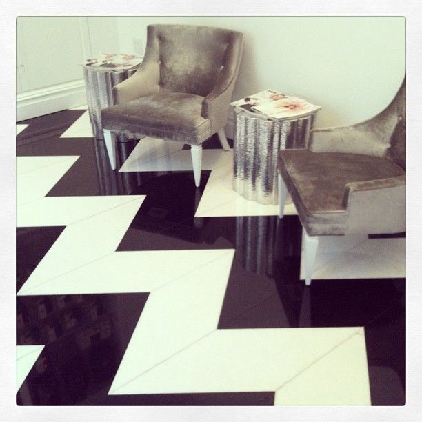 Rachel Zoe Genius Décor Ideas From Instagram: 17 Best Ideas About Chevron Floor On Pinterest
