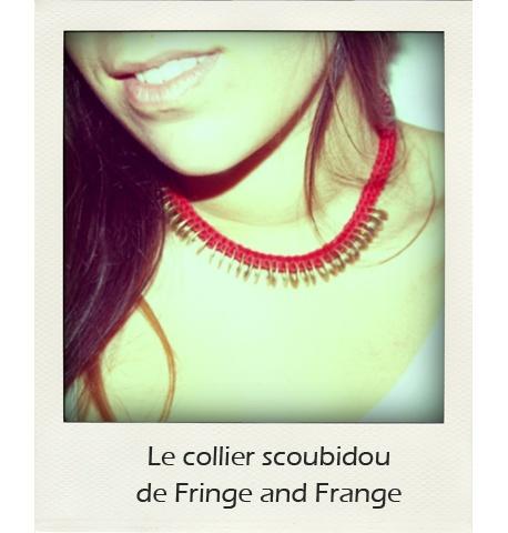 DIY : le collier Scoubidou de Fringe and Frange  Vous vous souvenez des scoubidous que vous faisiez étant enfants ? Qui aurait cru que l'on pouvait les transformer en un collier hyper tendance ? Fringe and Frange nous le prouve avec ce tuto !