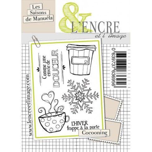 L'encre & l'image - tampon cocooning