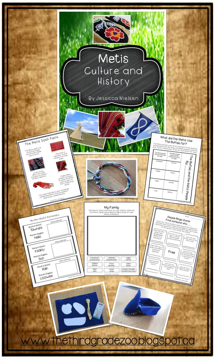$ The Metis are one of the three Aboriginal groups in Canada: First Nations, Metis, and Inuit. This 88 page unit is all about Metis history, culture, arts, and traditions.  This 88 page unit is written by a Metis teacher.