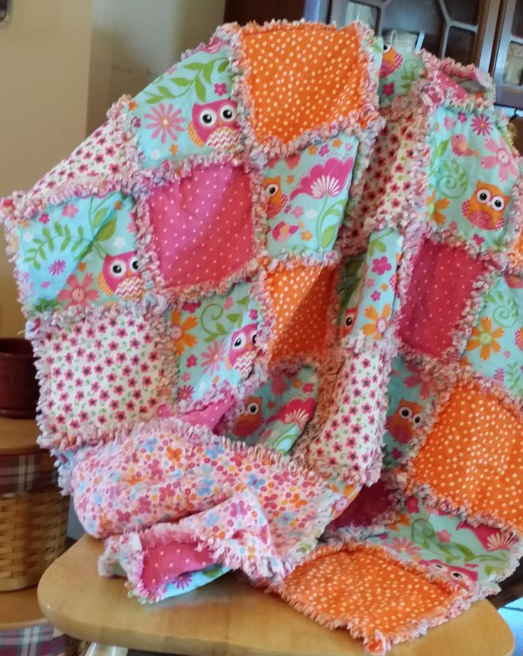 129 best Fabric & Yarn - Blankets/ Quilts images on Pinterest ... : quilting with yarn - Adamdwight.com