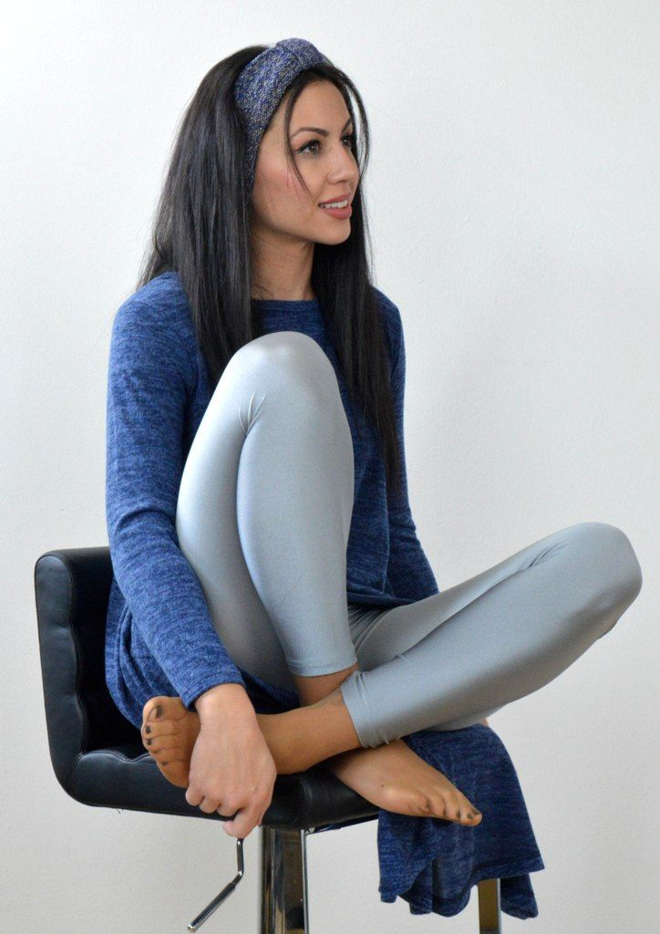 Μπλούζα Μακρυμάνικη Ασύμμετρη - ΜΠΛΕ | shop online: www.musitsa.com