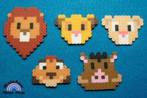 the lion king perler beads - Google Search
