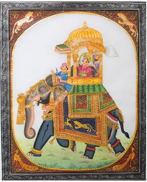 Image result for traditional indian miniature paintings