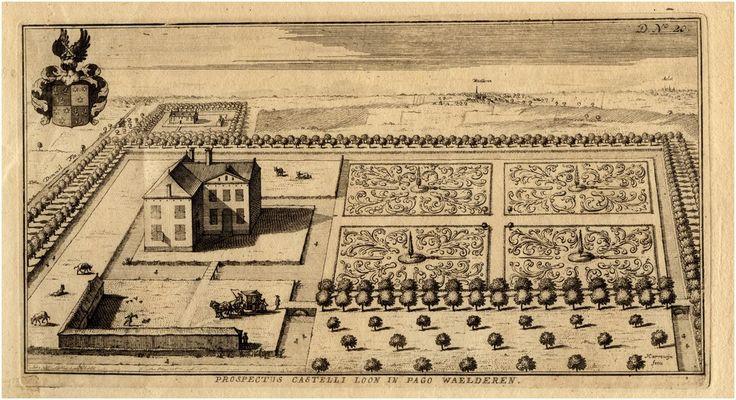 Waalre, Het huis Loon te Waalre. Harrewijn, F. 1770 - 1770