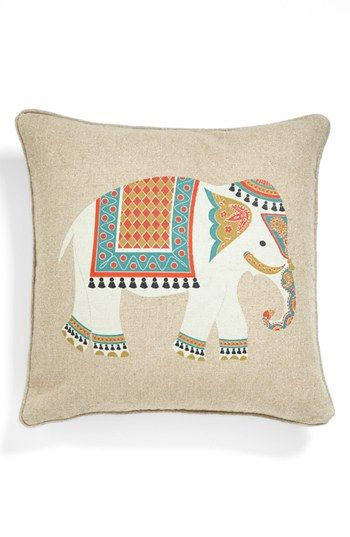 Levtex 'Niko - Elephant' Pillow available at #Nordstrom 40 like the design but not at this price finda similiar