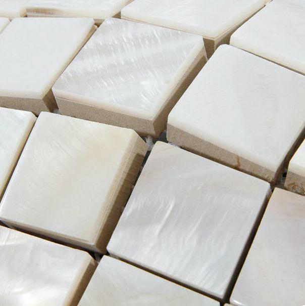 Перламутр плитки утолщение площадь белый кухня щитка оболочки мозаики ванной плитка стены ванной комнаты, напольные покрытия плитки