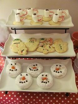 A Snowman Breakfast Party