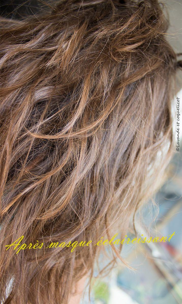 masque cheveux eclaircissant après lavande et coquelicot