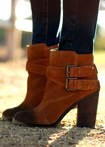 Buckle Ankle Boots ♥
