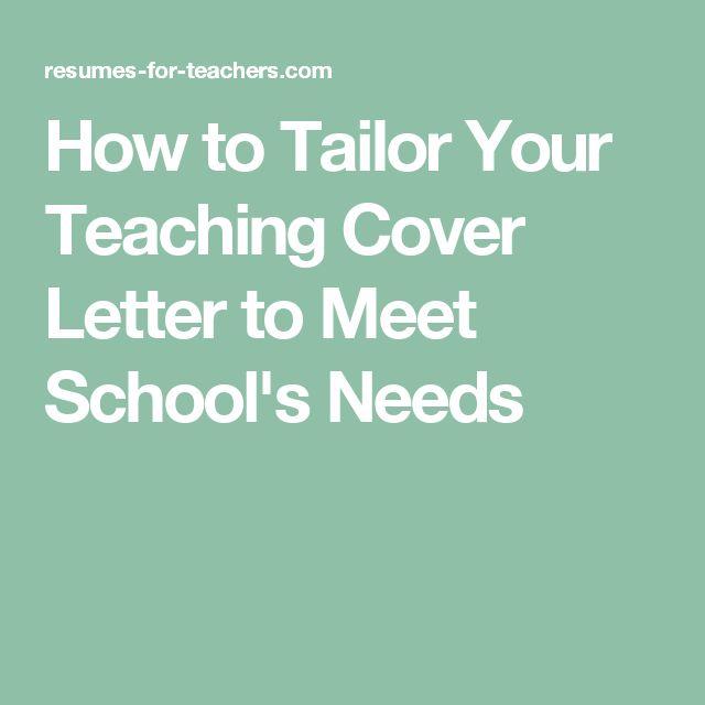 9 best Resumes images on Pinterest - cover letter for teaching position