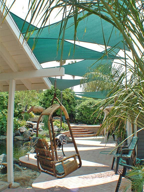 Ideas For Backyard Oasis Shades