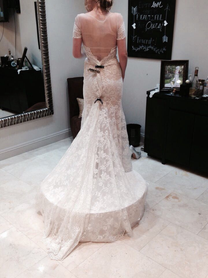 """Watters """"mila"""" gown"""